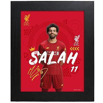 Liverpool Picture Salah 10 x 8