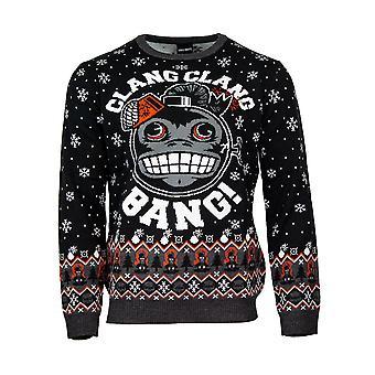 Offizieller Call of Duty Monkey Bomb Christmas Jumper / hässliche Pullover