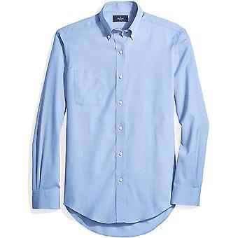 BUTTONED DOWN Männer's klassische Fit Button-Collar Nicht-Eisen Kleid Shirt (Tasche), ...