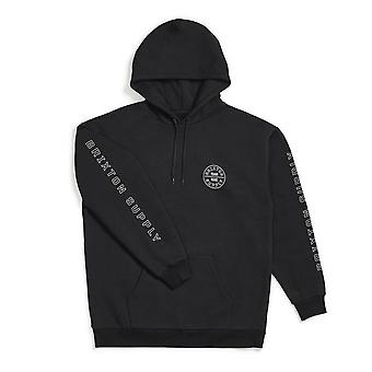 Brixton Oath IV INTL Pullover Hoodie Black