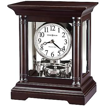 Howard Miller Cassidy Mantel Clock - Dark Brown