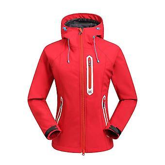חורף חליפת סקי חיצונית בגדי ריקוד נשים&s ז'קט סנובורד, עמיד למים מעיל Softshell