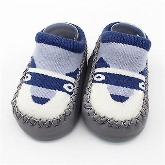 Baby Socks With Rubber Soles - Anti Slip Soft Sole Sock