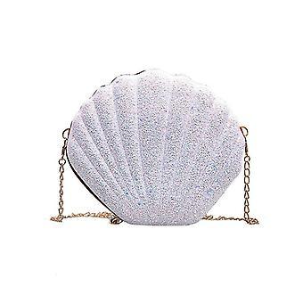 Women Pu Leather Handbags Cute Shell Shape Purse Mini Bag Bolsa Feminina