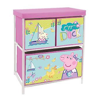 Peppa Pig Metal Game Shelf