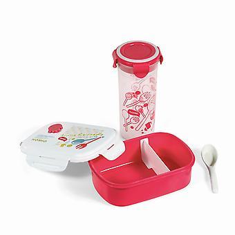 Matbehållare PROMIS TM120 R Lunch Box + Mugg
