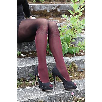Beautiful Women's Tights With Floral Pattern