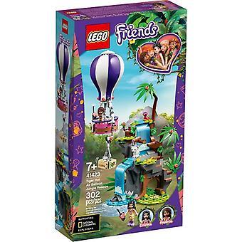 レゴ 41423 ジャングルで熱気球とタイガー救助