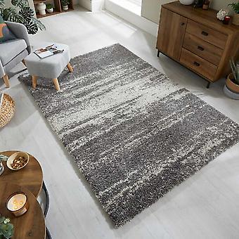 Dakari Reza Ombre Abstract Rugs In Grey