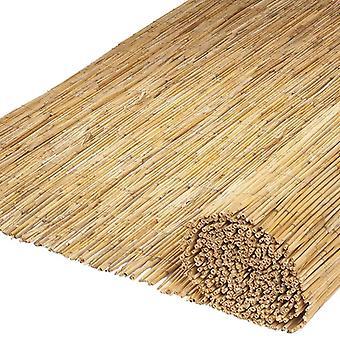 Natur trädgård Synskydd 2 st. Bambu rör 500×100 cm