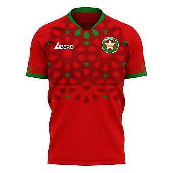 מרוקו 2020-2021 משם מושג ערכת כדורגל (Libero)