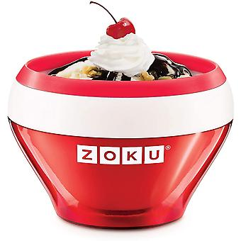 Zoku ZK120-RD Ice Cream Maker, Stainless_Steel, Red