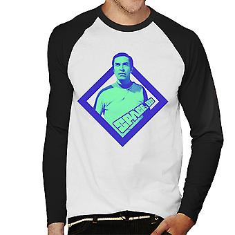 Space 1999 Commander John Koenig Men's Baseball Long Sleeved T-Shirt