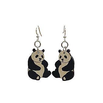 Small Panda Earrings