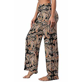 Women's Fashion Paisley Palazzo Pants