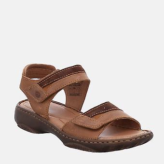 Debra 19 castagne kombi - josef seibel ruskea ruskea velcro naisten sandaali