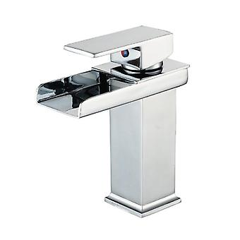 Chrome Water Bath Faucet With Single Hole