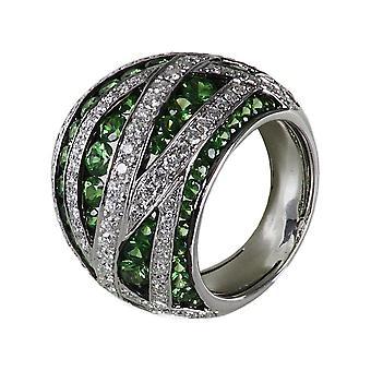 Luna Creation Promessa Ring Multiple Stone Trim 1B348W856-1 - Ring Width: 56