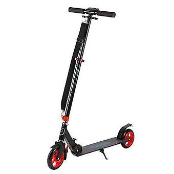 Adult And Youth Foldable Scooter With Shock Absorber, Handbrake, Two-wheel Scooter