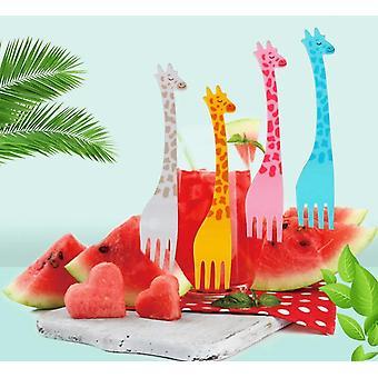 Tableware Kitchen Tool, Fruit Snack Toothpick Cartoon Shapeks