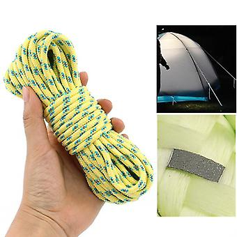 IPRee Dacron 10m Camping Tent Rope Lichtreflecterend High-strength Outdoor 16 Strands Paracord