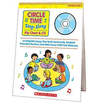 Circle Time Sing Along Flip Chart & Cd