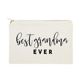 أفضل الجدة من أي وقت مضى القطن قماش حقيبة التجميل