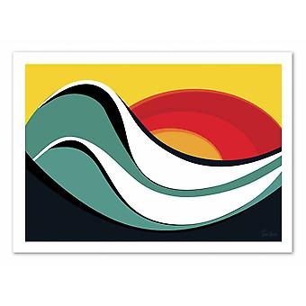 Art-Poster - Ipanema - Tom Veiga