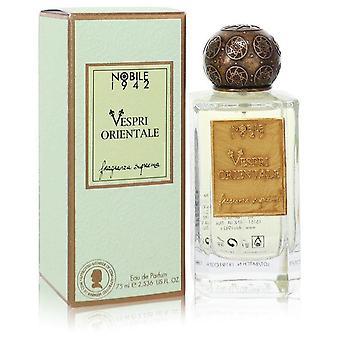 Vespri Orientale Eau De Parfum Spray (Unisex) By Nobile 1942 2.5 oz Eau De Parfum Spray