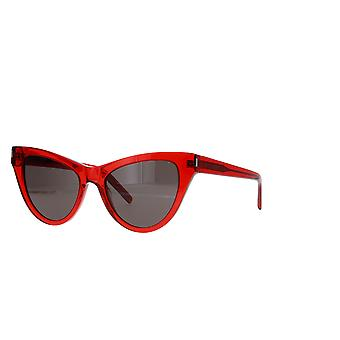 Saint Laurent SL 425 005 Red/Grey Sunglasses