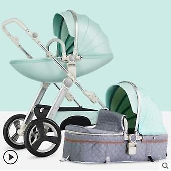 Lightweight Folding High Landscape Baby Carriage