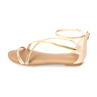 Bar III Womens Victoria Open Toe Casual Slide Sandals