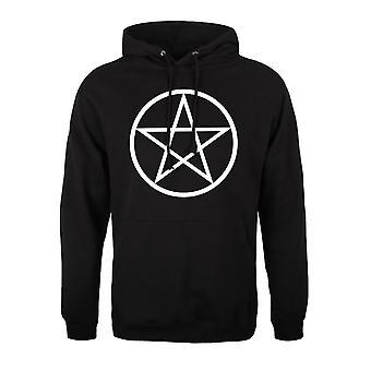 Grindstore Mens Pentagram Sweat à capuche