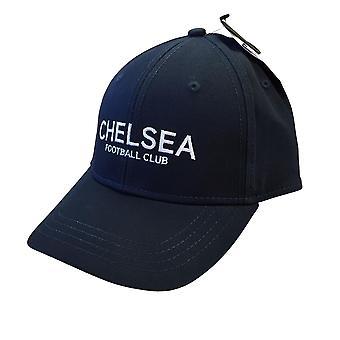 Chelsea FC Text Baseball Cap | Blue | 2021 | Adult
