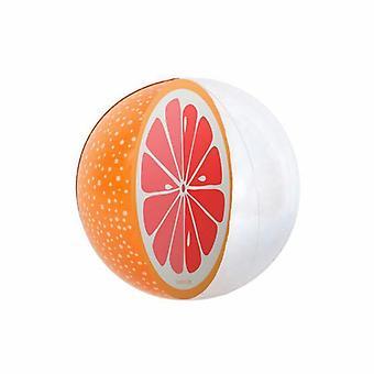 3d oppblåsbart svømmebasseng, vannmelon, oransje, strandfestball, sommervann