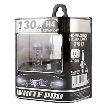 Automotive Bulb Superlite White Pro H4 12V 55/60W 4000K 37R/E4