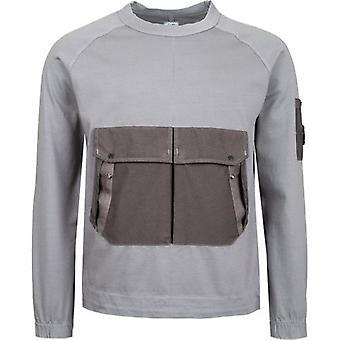 C.P. Company Jersey Pocket Crew Sweatshirt