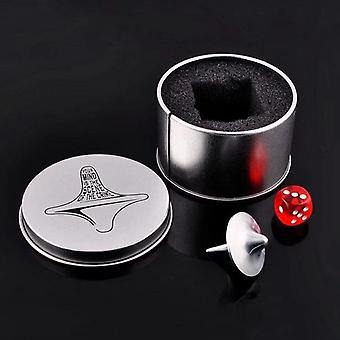3 In 1 Zinc Alloy Spinning Top Set