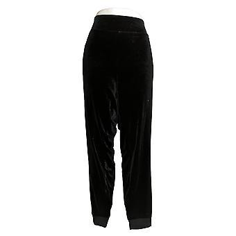 Belle By Kim Gravel Women's Pants Plus Velvet Jogger Black A383522
