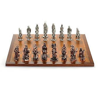 War Of The Rings™ Chess Set - Royal Selangor