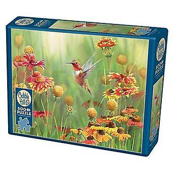 Kullersten pussel - rufous kolibri - 500 pc
