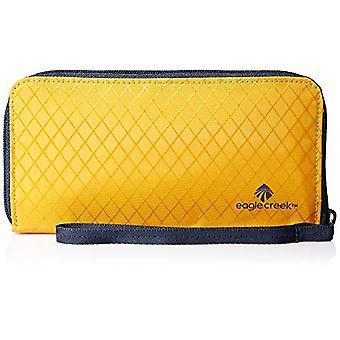 Eagle Creek RFID Wristlet Wallet Passport Holder, Yellow, Bracelet Unisex-Adulte, Jaune Sahara, Taille unique(2)