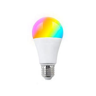 Lampadina intelligente A LED PNI SafeHome PT55RE, E27, WiFi, RGBW, 9W, 600 lm, luce / colore regolabile via Internet, applicazione Tuya Smart, integrazione in scenari e automazione intelligente con altri compatibilità