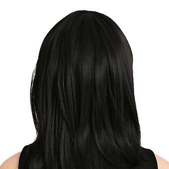 Middle long hair wig cap dt1141