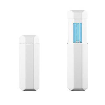 Portable ultraviolet sterilizer UVC handheld LED lamp ozone stick(Pure White)