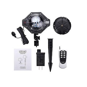 Christmas Led Projector Moving Snowflake Laser Light For Outdoor Decor