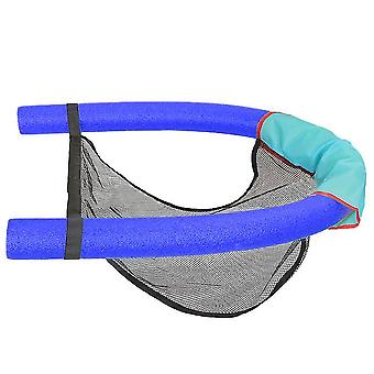 Mesh Floating Pool Chair Noodle Slings ,sling Mesh Chair(Blue)