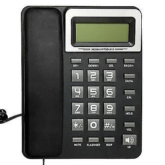 DAERXIN HCD601P/TSD-813 Stolní kabelový pevný telefon Pevný telefon Kompatibilní s FSK / DTMF s