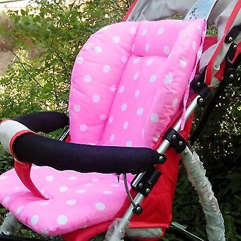 Bærbar Baby Klapvogn Polka Dot Trykt Komfortabel Seat Pude Pads