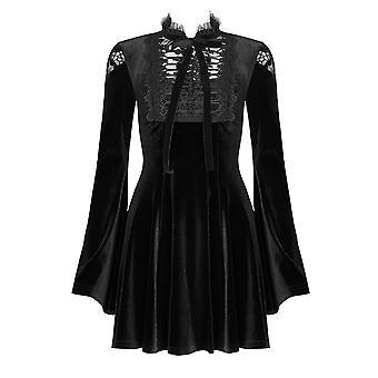 Punk Rave Marilyn Velvet Dress